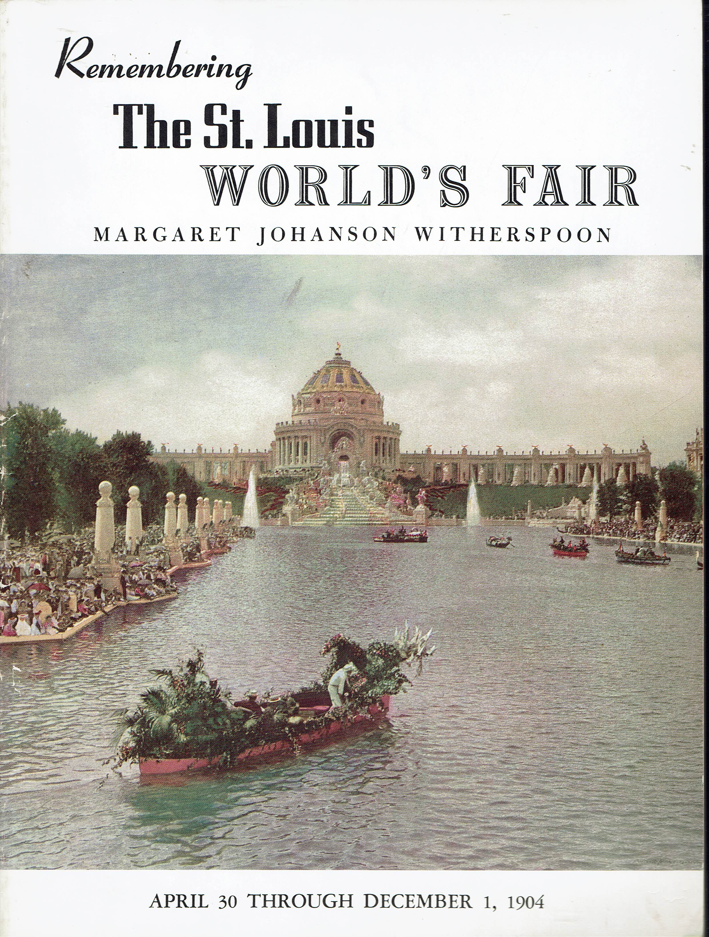 Image for Remembering The St. Louis World's Fair