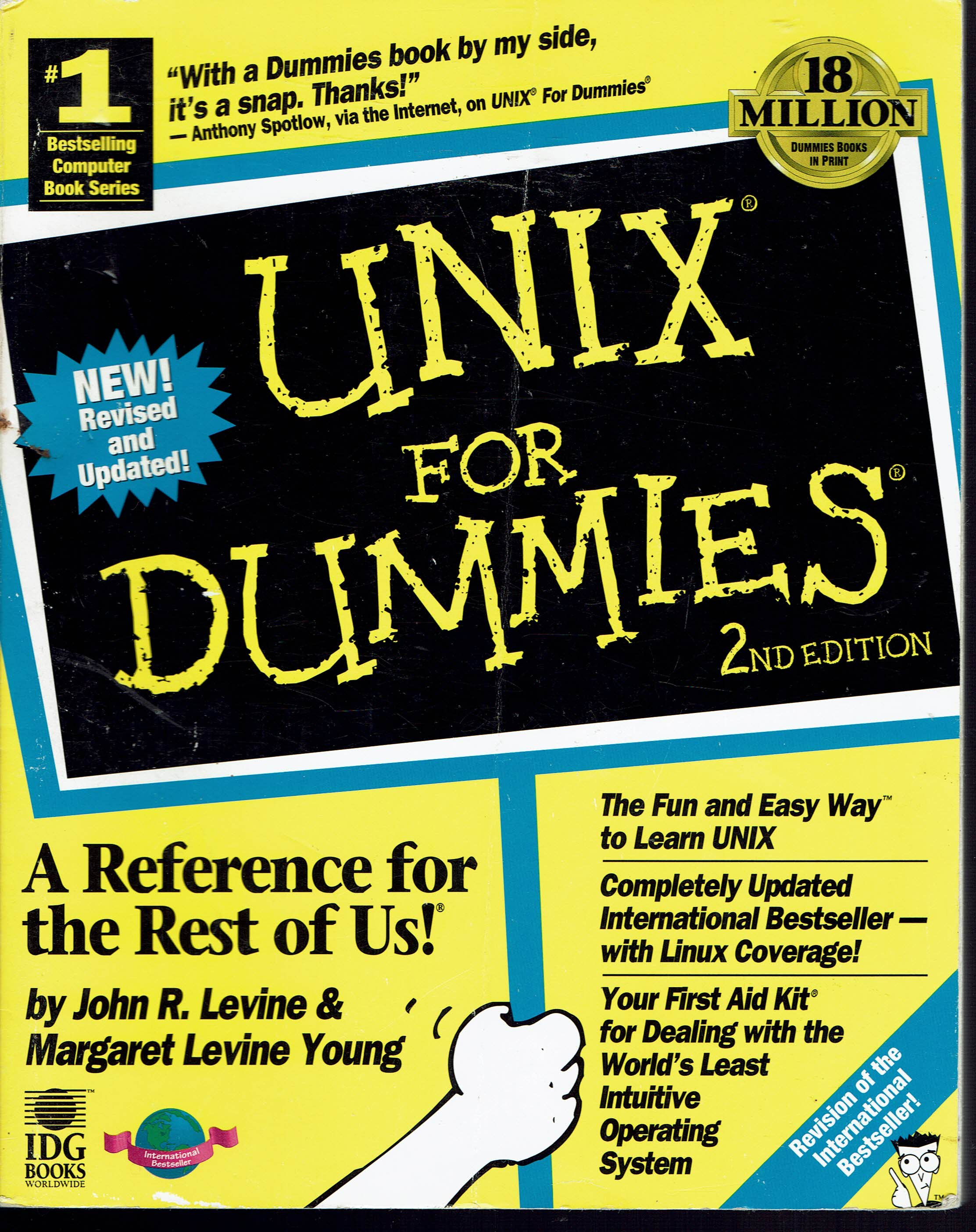 Image for UNIX for Dummies 2nd Edition